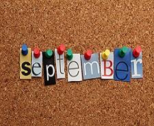 休校日のお知らせ 9月