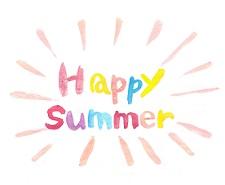 夏季休校のお知らせ